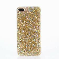For iPhone X 8 6S 7 5s Plus Bling Glitter Sparkly Soft Gel TPU Phone Cover Case