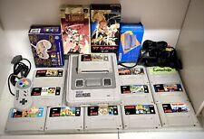 Super Nintendo Snes Job Lot Lotto Gig Giochi Jap Pal