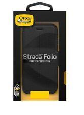 Genuine OtterBox Strada Leather Folio Case for Samsung Galaxy S10 Shadow Black