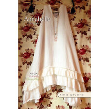 "TINA GIVENS ""ANNABELLE RUFFLE SLIP DRESS"" Sewing Pattern"