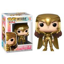 Funko Pop Ww84 Wonder Woman Golden Armor 323 jamais Déboxée
