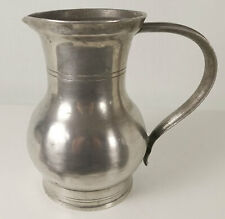 * 50€ POT à EAU ETAIN SEDAN.  18e  ZINN WASSERKANNE. Pewter water jar.