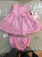 New Sweet Heart Rose, 3-6 Month Infant, Pink Dress, Girl, 2 Piece