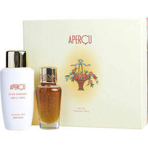 Houbigant Apercu Gift Set - Eau De Toilette Spray + 6.7 oz Body Lotion Womens
