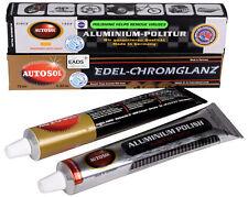 Autosol Aluminium Politur + Edel-Chromglanz Metallpolitur Polish Set Tube 75 ml