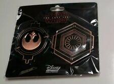 Disney Studio Store Hollywood Limited Edition-Star Wars The Last Jedi emblem set