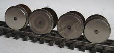 Spur TT Rokal 4 Radsätze einseitig isoliert Metall ∅ 14mm