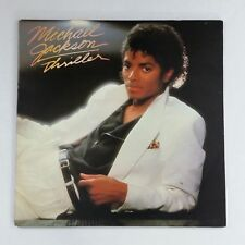 MICHAEL JACKSON Thriller QE38112 LP Vinyl VG+ near ++ Cover VG+ near ++ GF