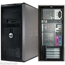 DELL OPTIPLEX 780 TOWER INTEL Core 2 Duo 4GB RAM 160GB HDD DVD Windows 7 WiFI