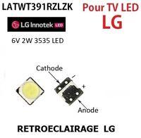 LED SMD LED 3535,6V 2w Reparacion Illuminazione Di Fondo, TV LG Innotek.