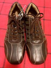 BRAND NEW MOSSIMO SUPPLY CO MEN'S Sz 12 (U.S) BROWN PREMIUM LACE UP CASUAL SHOES