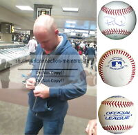 Pete Orr Atlanta Braves Signed Autograph Baseball Nationals Phillies Exact Proof