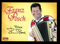 Franz Posch Autogrammkarte Original Signiert ## BC 117212