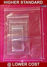 1000 ~ 2X5 2 Mil Clear Zip Reclosable Zipper Lock Seal Poly Bag Parts Packaging