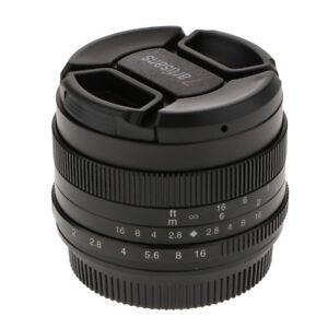 50mm F1.8 Large Aperture Manual Focus Prime Lens for Olympus Lumix Micro 4/3
