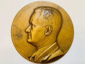1939 Earl B. Barnes Medallic Art Company Bronze Medal by John R Sinnock US Mint
