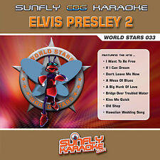 ELVIS VOL 2 SUNFLY KARAOKE CD+G