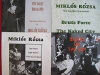 SOUNDTRACK 4 LP'S - MIKLOS ROZSA FILM SCORES - PRIVATE TT-MR-2 CITADEL VG++/NM