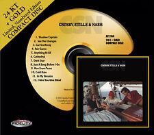 CROSBY, STILLS AND NASH - CSN 24 KT GOLD CD Audio Fidelity (2013) NEW