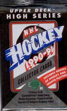 Upperdeck-1990-91-Hockey-9-Sealed Packs-Hi Series
