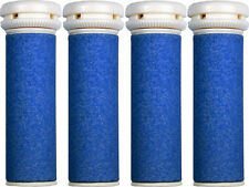 4 x Extra Coarse Blue Micro Mineral Replacement Rollers for Emjoi Micro Pedi