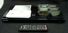 Samsung 3D Blu-Ray Disc Player BD-D5500 + 3D Active Glasses SSG-3100GB x3