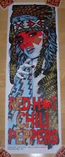 RED HOT CHILI PEPPERS concert gig poster print PHILADELPHIA 2017 Rhys Cooper