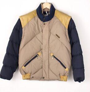 MILLET Men Puffer Down Bomber Jacket Overcoat Size M (UK1 EU33 US3) BDZ989