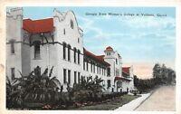 D92/ Valdosta Georgia Ga Postcard c1915 State Woman's College Building