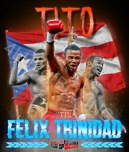 Felix Tito Trinidad 4LUVofBOXING Poster New Boxing wall art