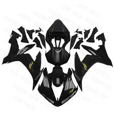ABS Vivia Black Gold Sticker Fairing Bodywork Injection For 04-06 Yamaha YZF R1