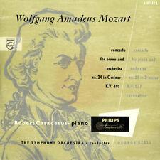 MOZART Piano Concerto 24 & 26 CASADESUS Philips A-1142 Maroon MINIGROOVE Holland