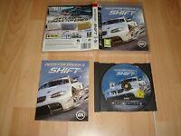 NEED FOR SPEED SHIFT DE EA GAMES PARA LA SONY PLAY STATION 3 USADO COMPLETO