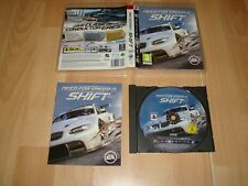 NEED FOR SPEED SHIFT DE EA GAMES PARA LA SONY PLAY STATION 3 USADO COMPLETO