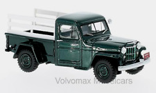 wonderful modelcar WILLYS JEEP PICKUP TRUCK 1954 - darkgreen - 1/43