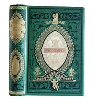 The Poetical & Prose Works of Oliver Goldsmith Antique Victorian Angel Cover