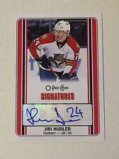 2016-17 Jiri Hurdler OPC Signatures Auto Mint SP Florida Panthers #S-JH