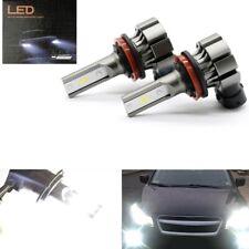 Pair Fog Lights Lamp For 2009-2016 Toyota Corolla H16 H11 6000K Bright CSP LED