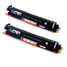 2PK CE310A Black Toner Cartridge For HP126A M175A M175nw CP1025nw