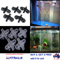Aquarium Plastic Filter Bottom Isolate Board Divider Fish Grid Sheet Holder Tool