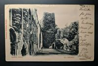 1904 Ardfert Abbey Co Kerry to Dublin Ireland Real Picture Postcard Cover