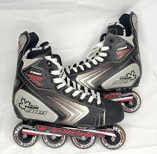 Tour Thor 909 Cdn Roller Hockey In-line Skates Blades Men's Size Us 13 Eur 48
