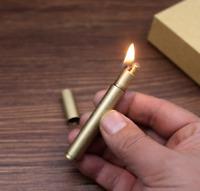 Creative Vintage Retro Kerosene Lighter Torch Kerosene Brass Cigarette Lighters