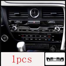 For Lexus RX300 200T 450H 16-20 Black titanium Volume Switch Button Panel Trim