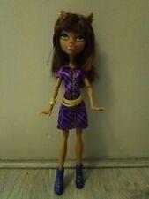 Monster High Coffin Bean Clawdeen Wolf Doll