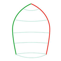 470 NEW Club/Training Spinnaker, sailboat
