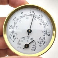 Mini Analog Anzeige Luftfeuchtigkeit Zubehör Gadget Rund Outdoor Hygrometer