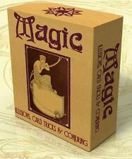 MAGIC, ILLUSIONS, CARD TRICKS & CONJURING 97 Books + 60Vintage Posters on DVD