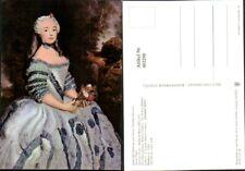 403298,Künstler AK Antoine Pesne Babette Cochois Frau m. Kleid Portrait pub VEB