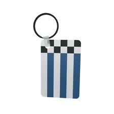 Schlüsselanhänger Flagge Fahne Norderney Alu 40 x 57 mm